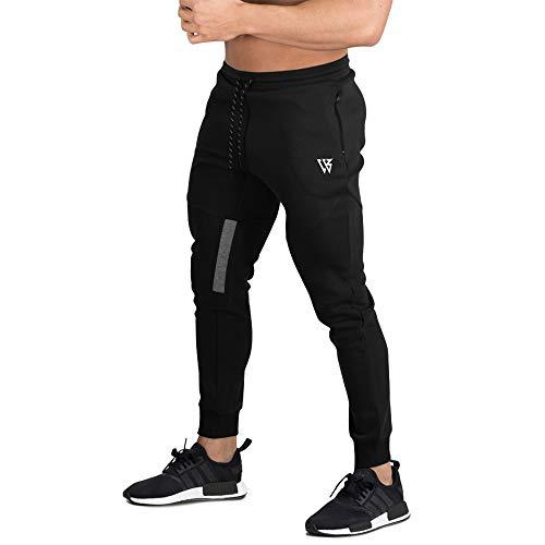 BROKIG Athletic Jogginghose Herren lang Jogging Hose - Jogginganzug für Männer Trainigshose Sporthose Sweatpants