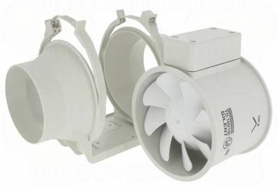extracteur de conduit 160 m3/h td-160/100t mixvent-td temporisé