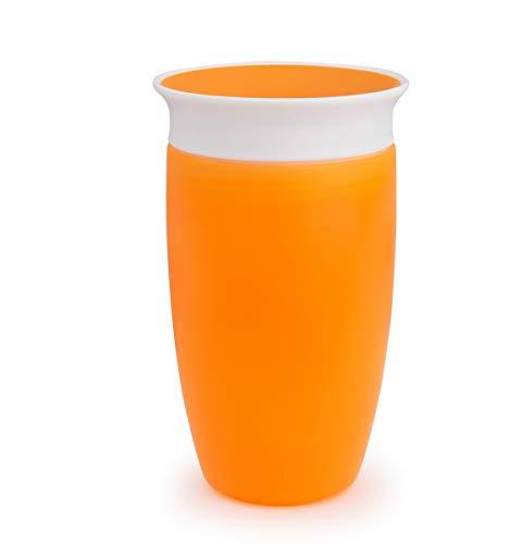 Munchkin 012444 Miracle 360° Bicchiere Antigoccia, Arancione
