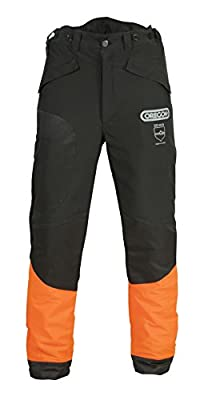 Oregon WAIPOUA® Schnittschutzhose, Bundhose, Forsthose (XXXL 66/68, schwarz)