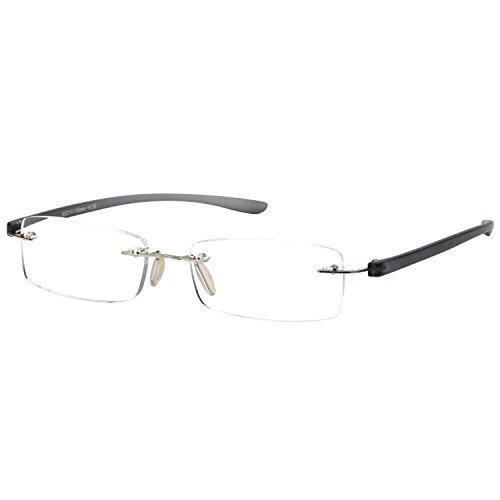 LianSan Gafas Lectura Sin Montura Hombres Moda Para