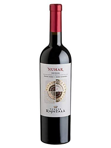 "NUHAR Pinot Nero/Nero d""Avola Sicilia DOC - Tenuta Rapitalà - Vino rosso fermo 2017 - Bottiglia 750 ml"