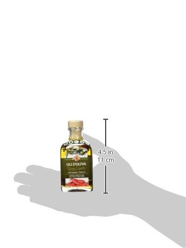 Mallorca Verda Aceite de Oliva Virgen Extra con Pimientos Picantes - 100 ml