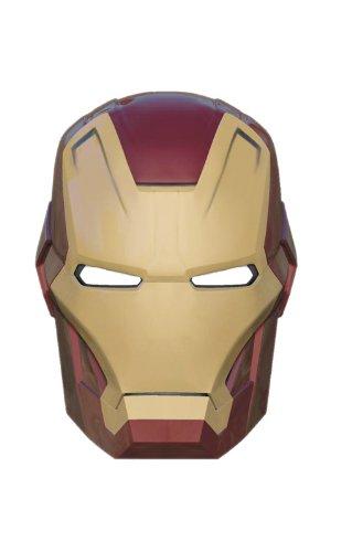 Iron Man Marvel Comic Maske (Kostüm Man Iron Offizielle)