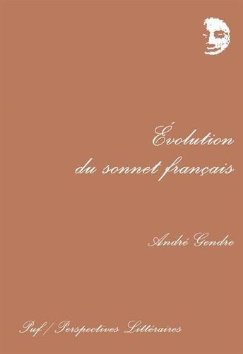 Évolution du sonnet français par André Gendre
