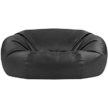 Bean Bag Bazaar Monster Double Faux Leather Two Seater Giant Bean