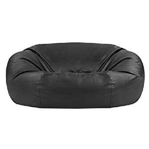 31 ZI6PGJbL. SS300  - Bean Bag Bazaar - Monster Double Faux Leather Two Seater Giant Bean Bags - XXXL Beanbag Sofa for 2