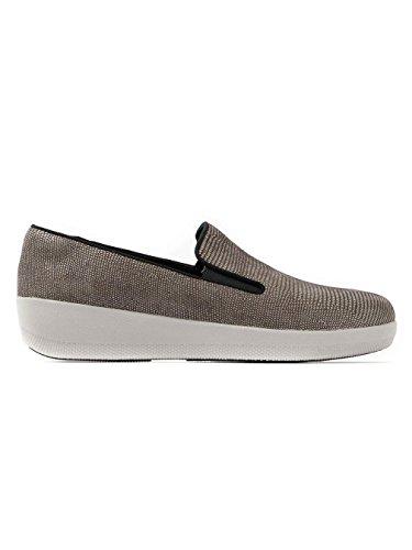 Brown Kate Fitflop Das Mulheres Brown Impressão Super Lagarto Sapatos 81OnWFq4q