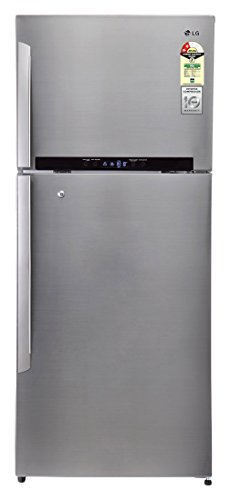 LG 511 L 3 Star Frost-Free Double Door Refrigerator (GN-M602HLHM, Shiny Steel)