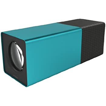 Lytro Lichtfeldkamera (8GB, 11 Megaray, 8-fach opt. Zoom)  hellblau-metallic