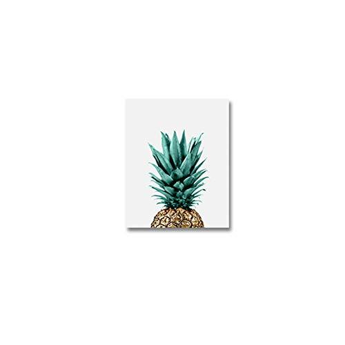 Botanische Kräuter (PLDZSH Triptychon Kräuter Poster Botanische Küche Wandkunst Leinwand Gemälde Schwarzweißbuchstaben Bilder Geschenk Wohnaccessoires, 60x90cm ohne Rahmen, D)