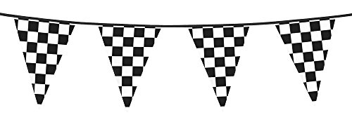Banderole DAMIER racing fanions 6m