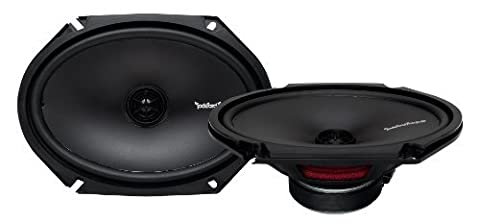 Rockford Fosgate R168X2 Prime 6 x 8 Inches Full Range Coaxial Speaker - Set of 2 Size: 6 x 8 Inch Consumer Portable Electronics/Gadgets