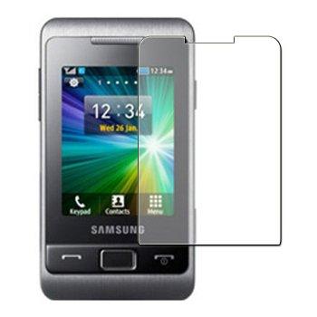 6 x Displayschutzfolie passgenau für Samsung GT-C3330 Champ II - Anti-Kratzer Displayschutz unsichtbar Folie