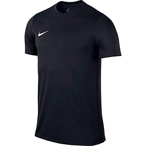 Nike Park VI Camiseta de Manga Corta para hombre, Negro Black/White, S