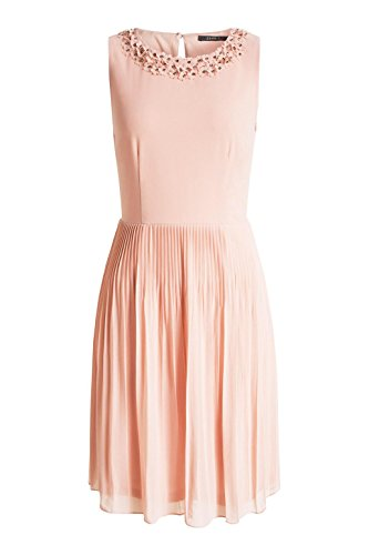 ESPRIT Collection - 036eo1e015 - Floating Chiffon Quality, Vestito Donna Rosa (LIGHT PINK 690)