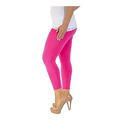 LessThanTenQuid Damen Leggings braun braun kirsch-pink