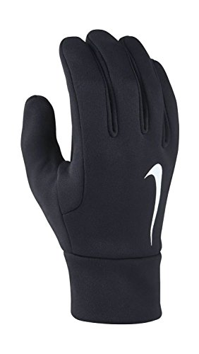 Nike Kinder Youth Hyperwarm Field Player Gloves Handschuhe, Black/White, S