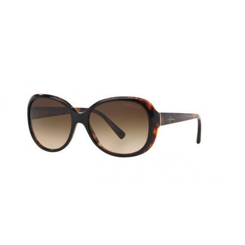 Giorgio Armani Unisex AR8047 Sonnenbrille, Braun (Tortoise 504913), One Size (Herstellergröße: 56)