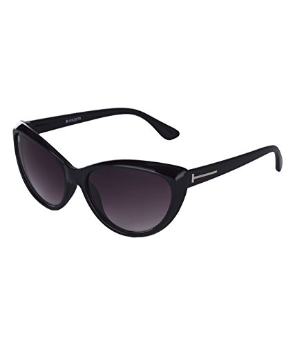 Markques Cateye Womens Sunglasses(Cat-550101Gr|58|Black)