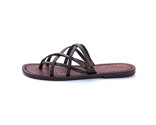 Sandalo Cuoio El Campero Colle Dark Brown41