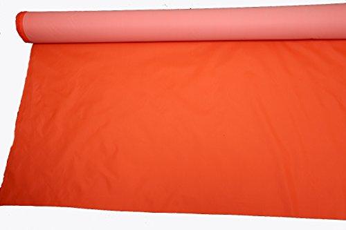 4 oz impermeable PU Hi-Vis tela alta visibilidad color