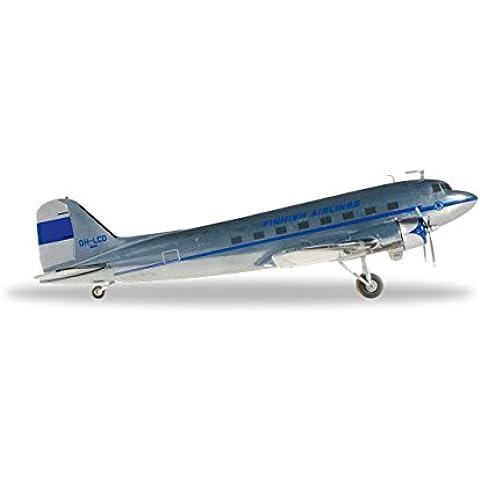 Herpa 557108 - finlandesas Aerolíneas Douglas DC-3, Miniaturmodelle