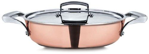 pensofal-pen8204-skillet-2-handles-with-s-steel-lid-diam-28cm-in-gift-box-reserve-range-copper