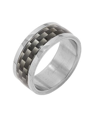 Valentine Gifts: Dare By Voylla Alloy With Silver Plating Ring For Men, Boyfriend & Husband