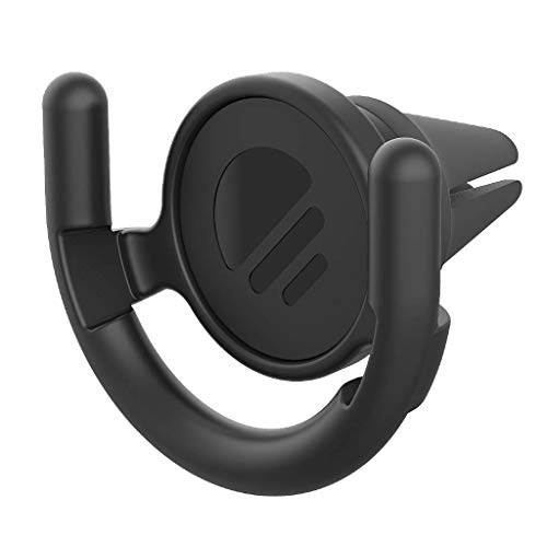 PopSockets - Hände-frei Auto-Lüftungshalterung für Smartphones and Tablets [PopGrip Nicht Enthalten] - Black