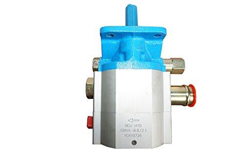 Varan Motors NEHGP-01 Zweistufige Hydraulikpumpe Zahnradpumpe CNBA-8.8/2.1 11GPM 3000PSI