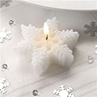 Copo de nieve velas (Pack de 3)