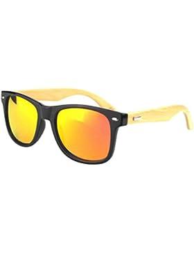 Gafas De Sol Polarizadas Al Aire Libre De Bambú De Las Niñas
