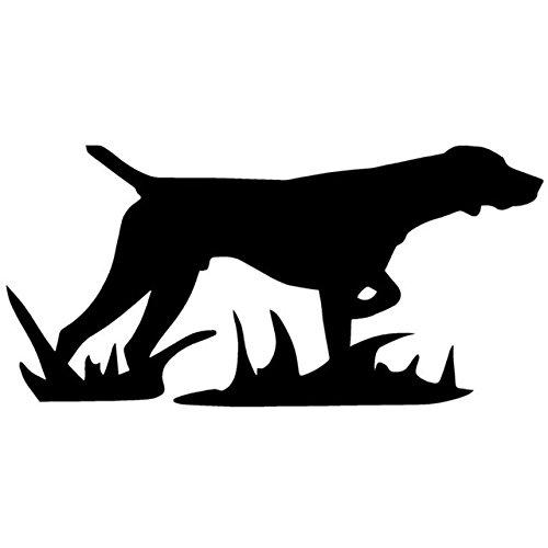 SPA Preto : 17.8*8.7 CM Etiqueta Do Carro Do Cão de Caça Criativo Elegante Janela de Vinil Decalque Para Carro Universal Multi Cor Adesivos Estilo do carro