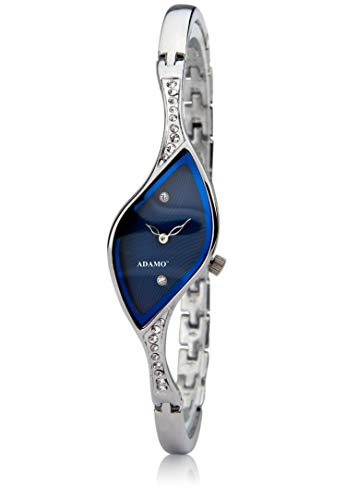 Adamo Analog Blue Dial Women's Watch-9710SM01