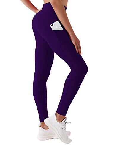 BUBBLELIME Yoga-Hose, 66 cm / 71 cm Innennaht, mit Tasche, Jogginghose, hohe Taille, UPF30+ (Lange Hose und Capris)