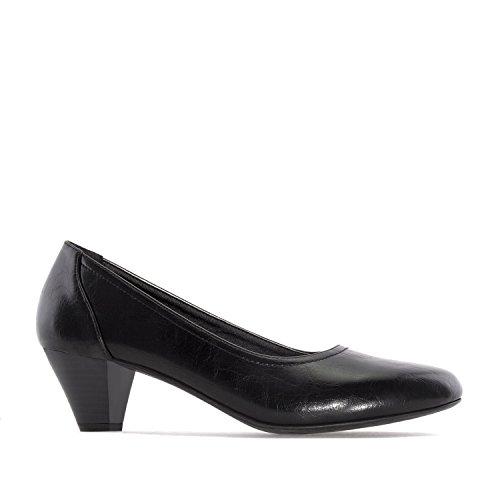 Andres Machado.AM5213.Escarpins en Soft.Pour femmes.Grandes pointures.42/45 Noir