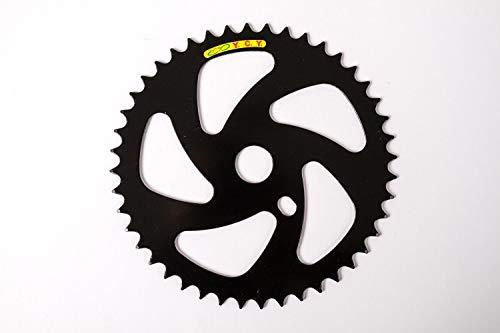 Fahrrad Kettenblatt BMX Stahl Rizel Kurbel Blatt schwarz 44 Zähne