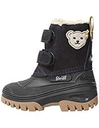 Steiff Knopf im Ohr - Kinder Schuhe Winter Stiefel Jungs Mädchen Pauli mit Klettverschluss
