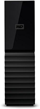 قرص صلب خارجي ماي بوك للكمبيوتر المكتبي من ويسترن ديجيتال بسعة 4 تيرا، بمنفذ يو اس بي 3.0، WDBBGB0040HBK