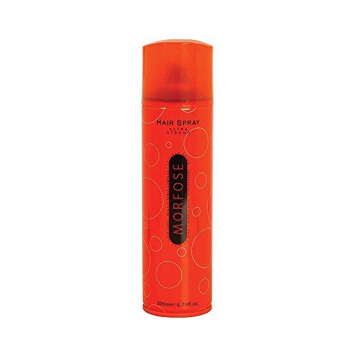 3x Morfose Haarspray Ultra Strong Orange 200ml