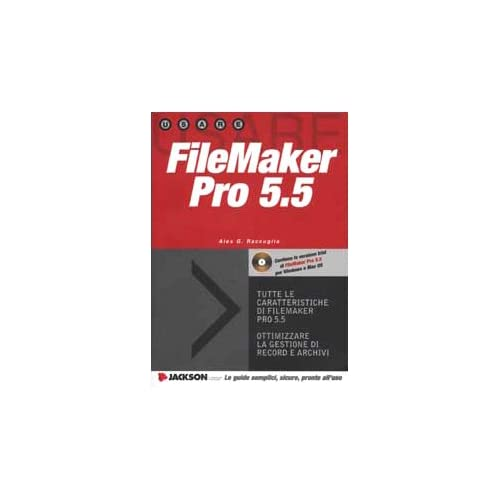 Filemaker Pro 5.5. Con Cd-Rom