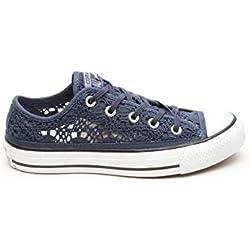 Converse Zapatillas All Star Ox Crochet Azul EU 37