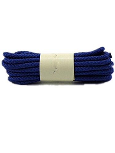 Boowhol Schnürsenkel Runde Schnürsenkel Polyester Bunte Farbige Rundsenkel Shoelace Breit 0.4CM, Länge: 80-160 CM