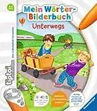 Ravensburger tiptoi Mein Wörter-Bilderbuch Unterwegs Lernbuch