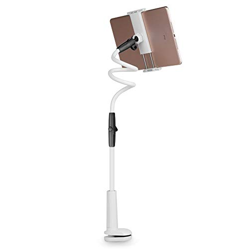 Clips Video 110 (Zhao Li Handyhalter-Lazy Handyhalter Handyhalter Flat Bedside Table Clip 110CM , Handy Tablet (Color : B))