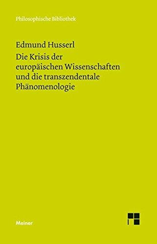 Die Krisis der europäischen Wissenschaften und die transzendentale Phänomenologie: Jubiläumsausgabe zum 150jährigen Bestehen der