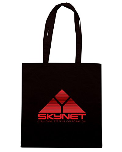 T-Shirtshock - Borsa Shopping FUN0217 09 03 2012 SkyNet T SHIRT det Nero