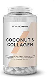 UK NO.1 Coconut & Collagen Capsules - 0ne month (60 Capsu