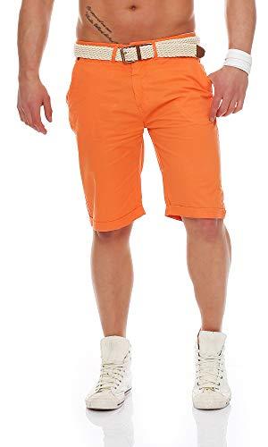 GEOGRAPHICAL NORWAY PIPERNO Pantalon bermudas Hombre naranja CORAIL L